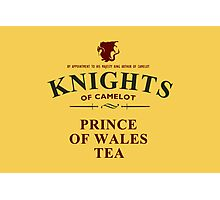 KNIGHTS Of Camelot Tea Photographic Print