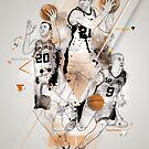 SPURS tribute - Parker Ginobili Duncan by 2m-at-work