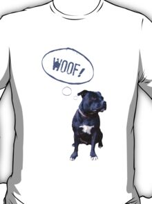 I love Staffies T-Shirt