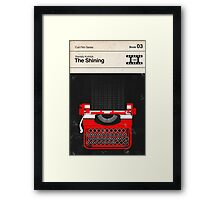 The Shining Modernist Book Cover Series  Framed Print