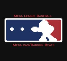 MLB- Mega League Baseball shirt by webbelot