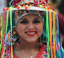 Bolivian girl  by annalisa bianchetti