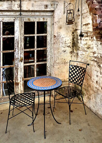 Come sit with me... by George Petrovsky