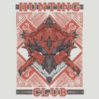 Hunting Club: Rathalos by MeleeNinja