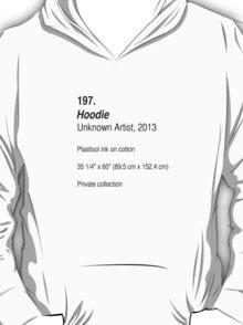 Hoodie, as art T-Shirt