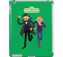 Puppety Sherlock and John iPad Case/Skin