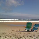 Beach Chairs by Erica M. Schaeffer