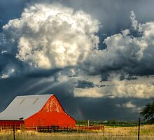 The Red Barn by CSkilbeck