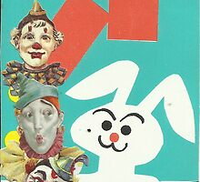 Bunny Boo Boo Never Liked Working With Clowns.. by RobynLee