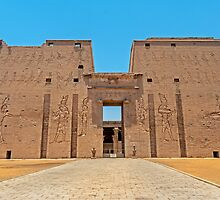 Temple of Horus3. by bulljup
