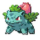 Pixel Ivysaur by N1N10D0PE