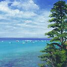 Portsea Pine Tree on Port Phillip by Dai Wynn