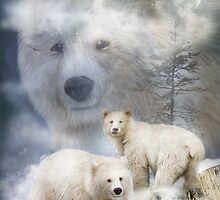 Spirit Of The White Bear by Carol  Cavalaris