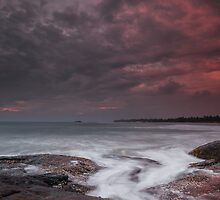 Evening in Sri Lanka by naumenko