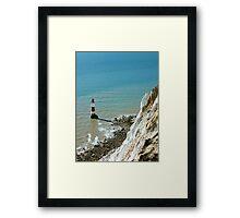 Beachy Head Lighthouse, East Sussex Framed Print
