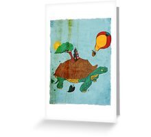 Searching and Waiting Greeting Card