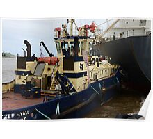 SVITZER TUGS, NEWCASTLE HARBOUR. Poster
