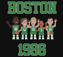 NBAToon of Boston Celtics 1986 - Larry Bird by D4RK0