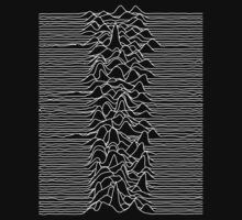 Joy Division : Unknown Pleasures - White by 80sCover