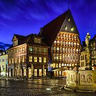 Old Town in Germany by Michael Abid