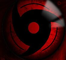 Mangekyo Sharingan iPhone Case by squidkid