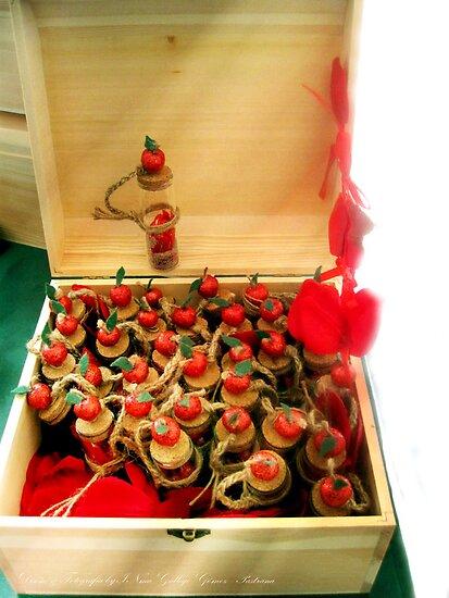 Treasure chest Iðunn I Wedding Favors & Handfasting by INma Gallego Gómez - Pastrana