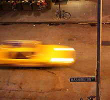 Taxi in West Village by tomduggan