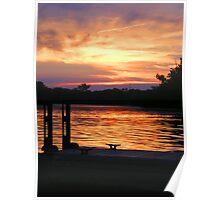 Boat Dock Poster