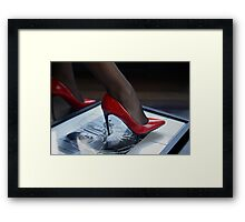 Red Shoe Diary - 1 Framed Print