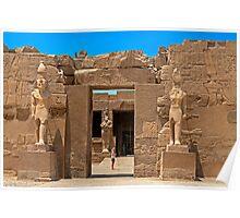 Karnak, Luxor1 Poster