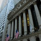 The New York Stock Exchange by Anton Oparin