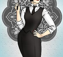 1920s Gangster Girl by CatAstrophe