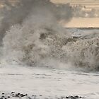 Crashing Waves up close by jamesdt