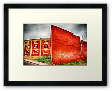 Plaza de toros, Mérida, Spain by Wendy  Rauw