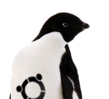 """Ubuntu"" Penguin tattoo Sticker"