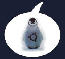 """Ubuntu"" Baby penguin tattoo Kids Clothes"