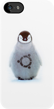 """Ubuntu"" Baby penguin tattoo by derekTheLair"