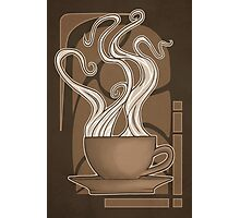 Coffee Nouveau Photographic Print
