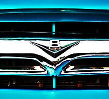 Blue F100 V8 emblem by htrdesigns