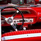 Red Chevy dashboard by htrdesigns