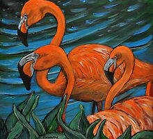 Flamingo by Tricia Winwood