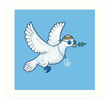 The Hippie Dove Art Print