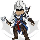 Assassin&#x27;s Creed 3: Connor Chibi by SushiKitteh&#x27;s Creations