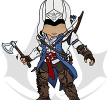 Assassin's Creed 3: Connor Chibi by SushiKittehs