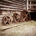 Gears at West Point on The Eno in Durham, NC by Sanguine