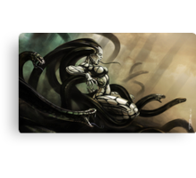 Medusa Rising Canvas Print