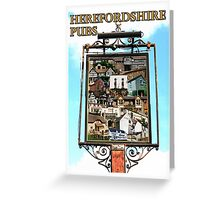 Herefordshire Pubs Greeting Card