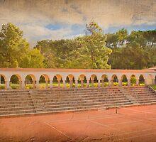 clube de ténis estádio nacional. tennis club. by terezadelpilar~ art & architecture
