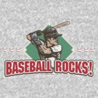 Diamond Baseball Rocks Slugger by MudgeStudios