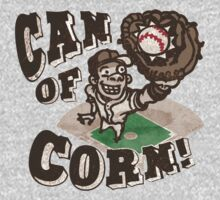Can of Corn Baseball Player T-Shirt